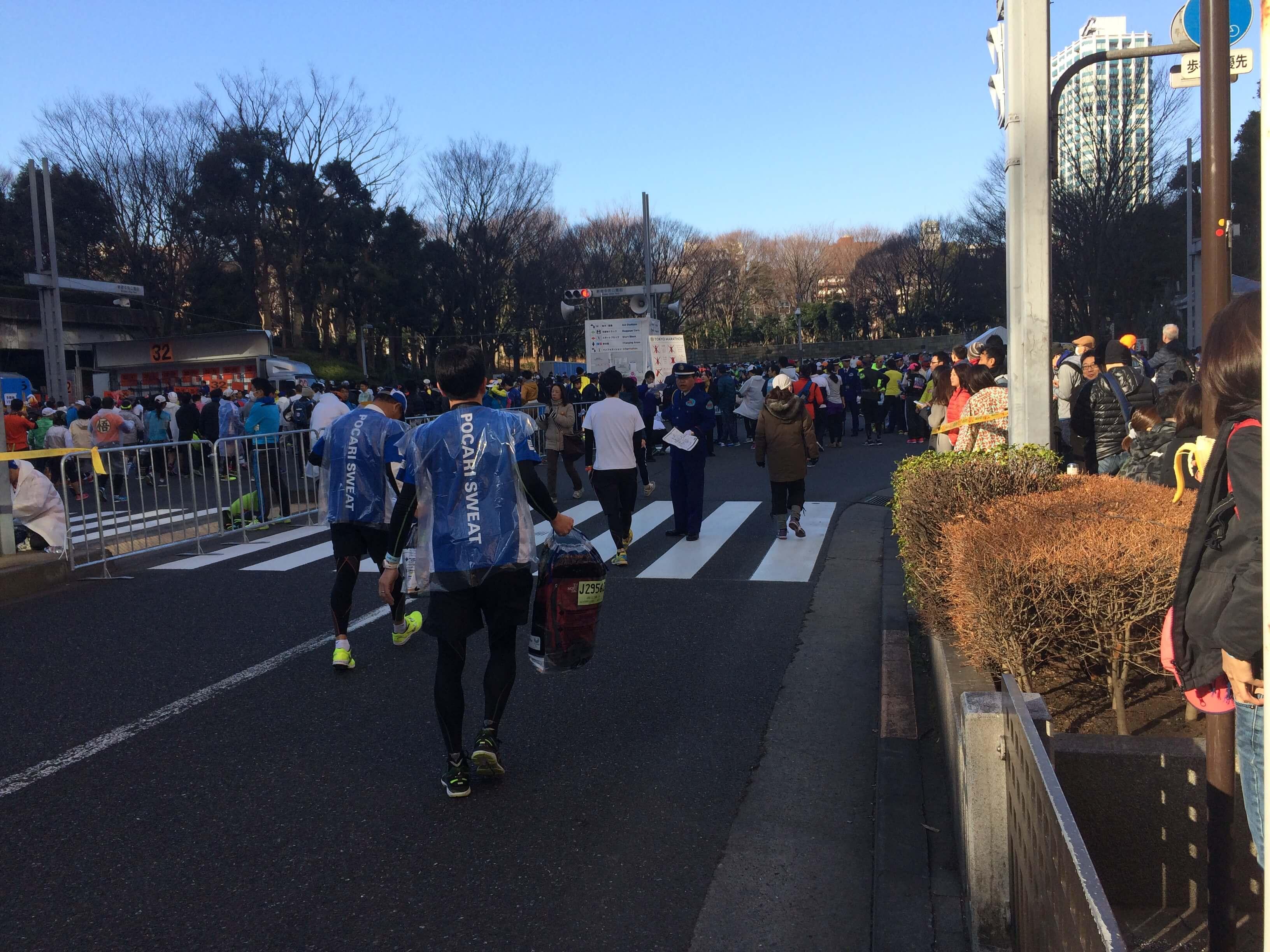 マラソン応援_東京マラソン_東京マラソン2017_新宿