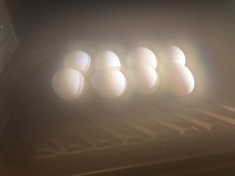 パナソニック3つ星ビストロの温泉卵