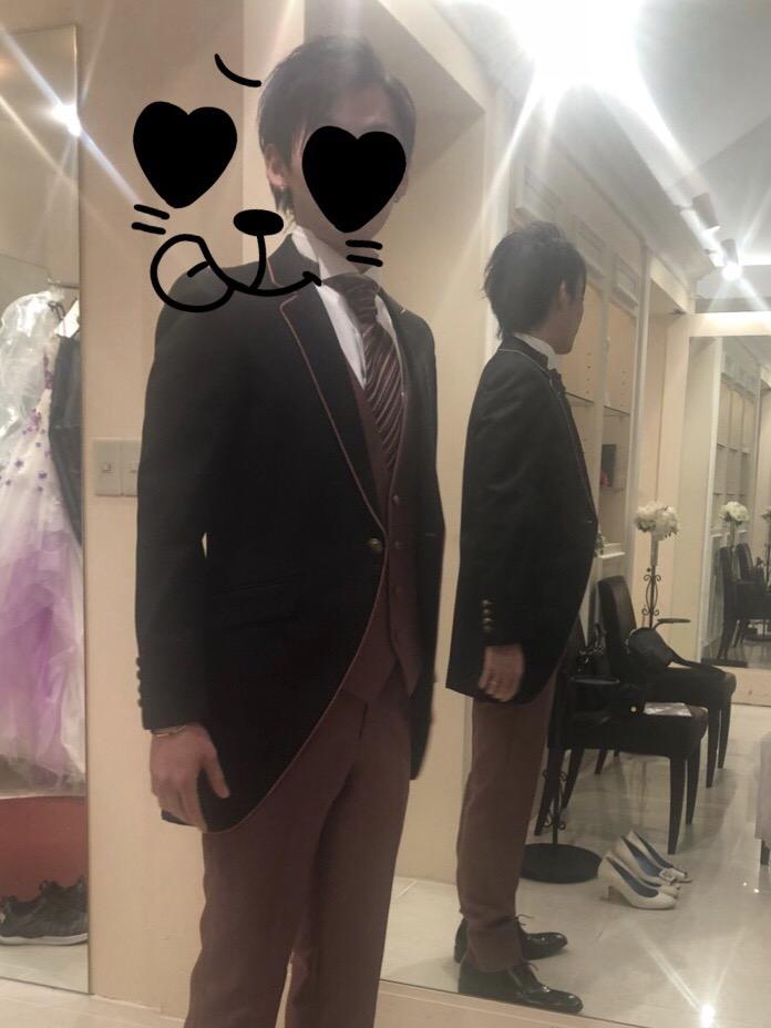 ホテル雅叙園東京のタキシード