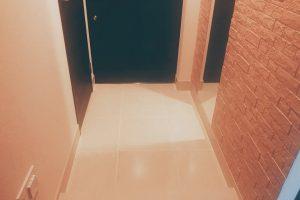 マンションオプションで玄関の床を大理石に変更