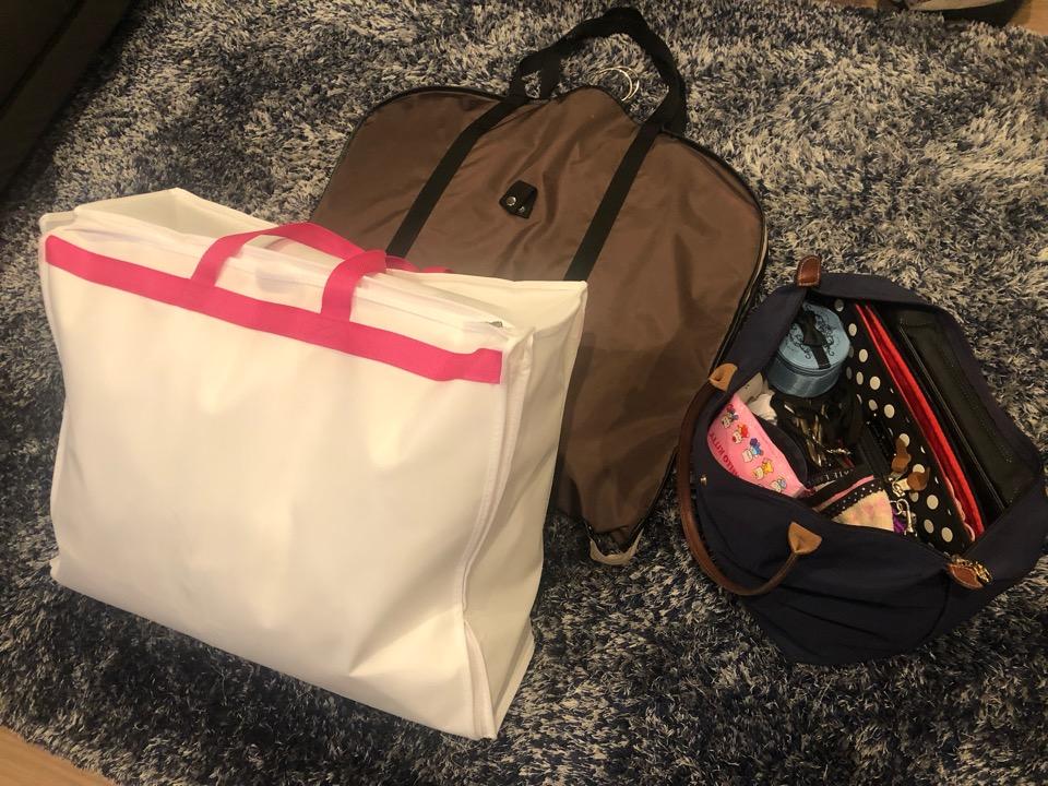 モルディブ旅行の荷物