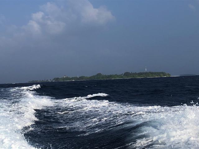 モルディブのカマドゥ島