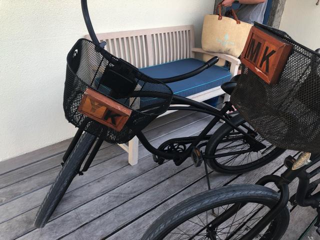 フォーシーズンズリゾートモルディブ アット ランダーギラーヴァルの自転車