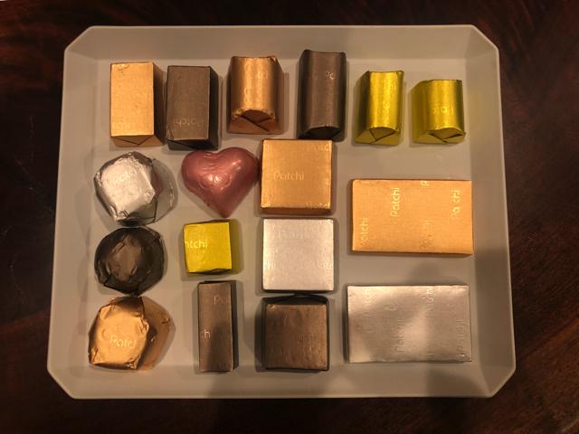 patchiのチョコレート