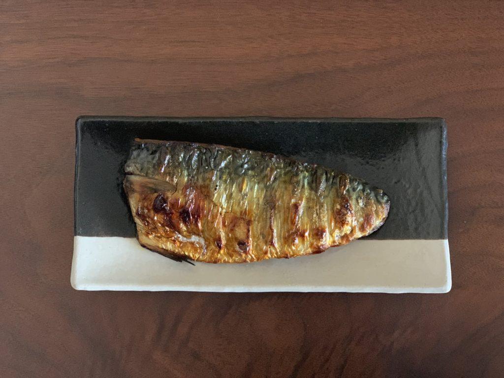 焼鯖のフリー写真素材