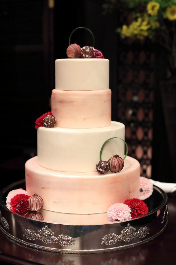 ウエディングケーキのフリー写真素材