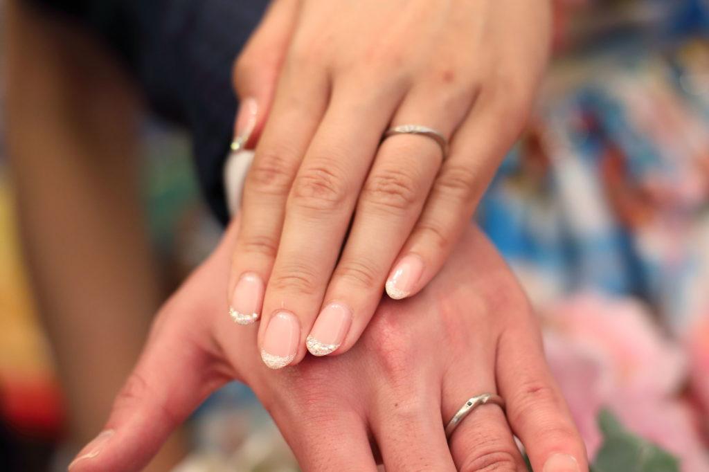 結婚指輪のフリー写真素材